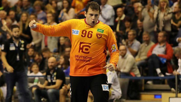 Dejan Milosavljev: Ein Handball-Schwergewicht im Füchse-Tor - rbb|24