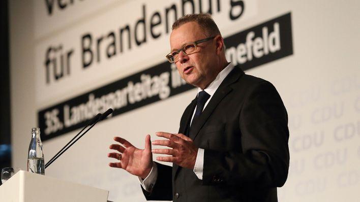Stübgen gibt CDU-Bundestagsmandat zurück