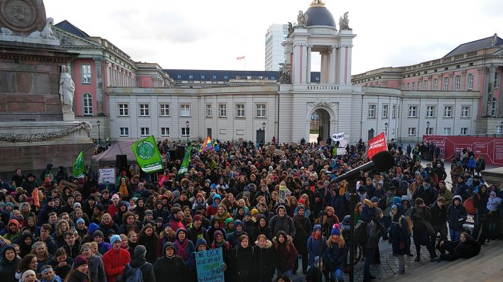 Fridays for Future, Klimademo in Potsdam am 29.11.2019 (Quelle: Daniel Gäsche)