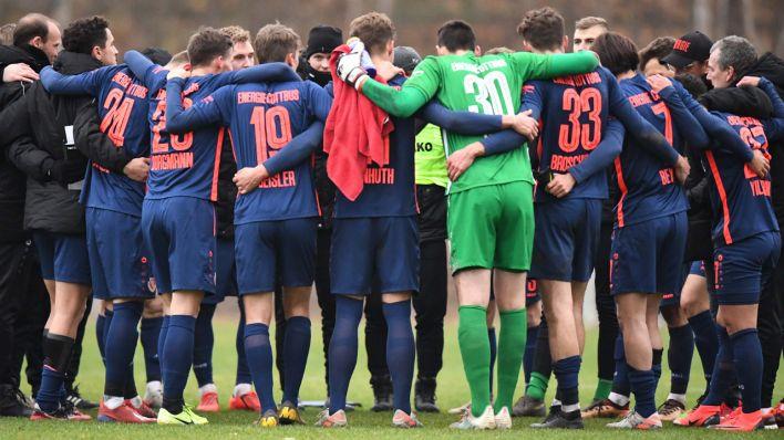 Cottbus will auf den Regionalliga-Gipfel