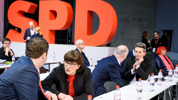 SPD-Bundesparteitag in Berlin am 08.12.2019 (Quelle: imago images/Spicker)