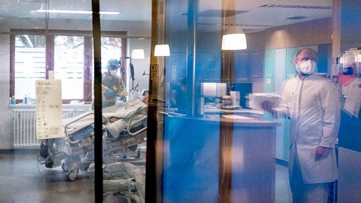 Steigende Infektionszahlen bringen Krankenhäuser ans Limit - Pflege-Ausbildung konstant