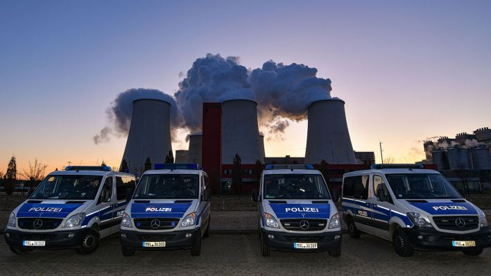 Polizei stellt 29 Strafanzeigen gegen Klimaaktivisten