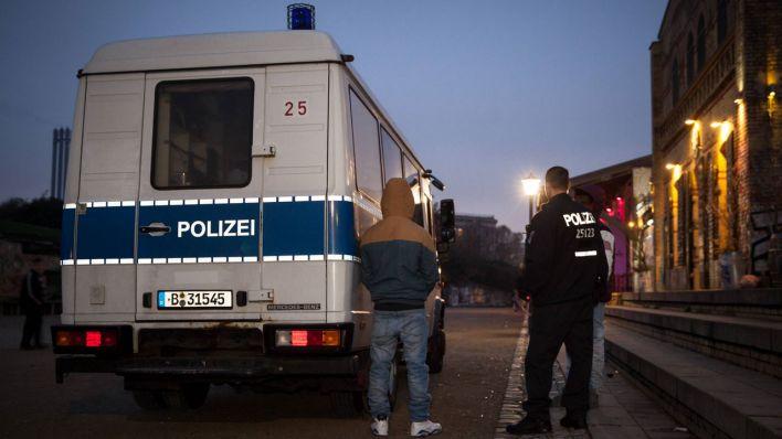 Berliner Senat plant deutlich mehr Polizei im Görlitzer Park