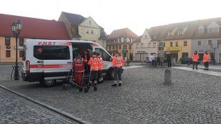Großteil der Stadt Ruhland wird in Kürze evakuiert (Quelle: rbb(
