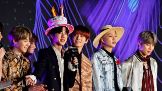 BTS bei der Verleihung der Mnet Asian Music Awards 2019 im Nagoya Dome. (Quelle: imago-images/Future Image)