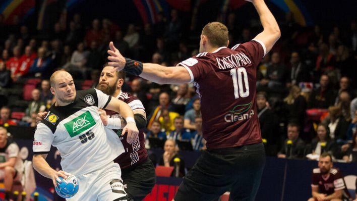 28 27 Sieg Gegen Lettland Deutsches Handball Team Erreicht