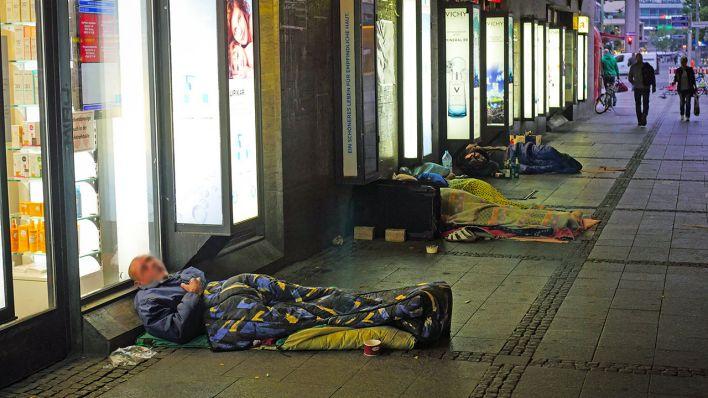 Obdachlosenzählung Berlin