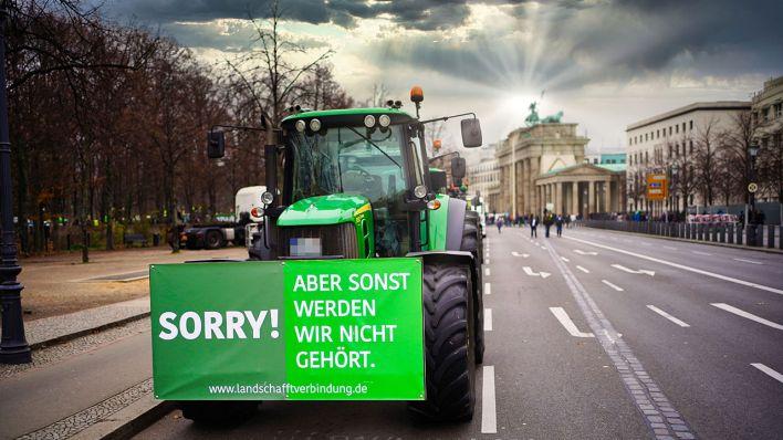 Bauern demo in berlin