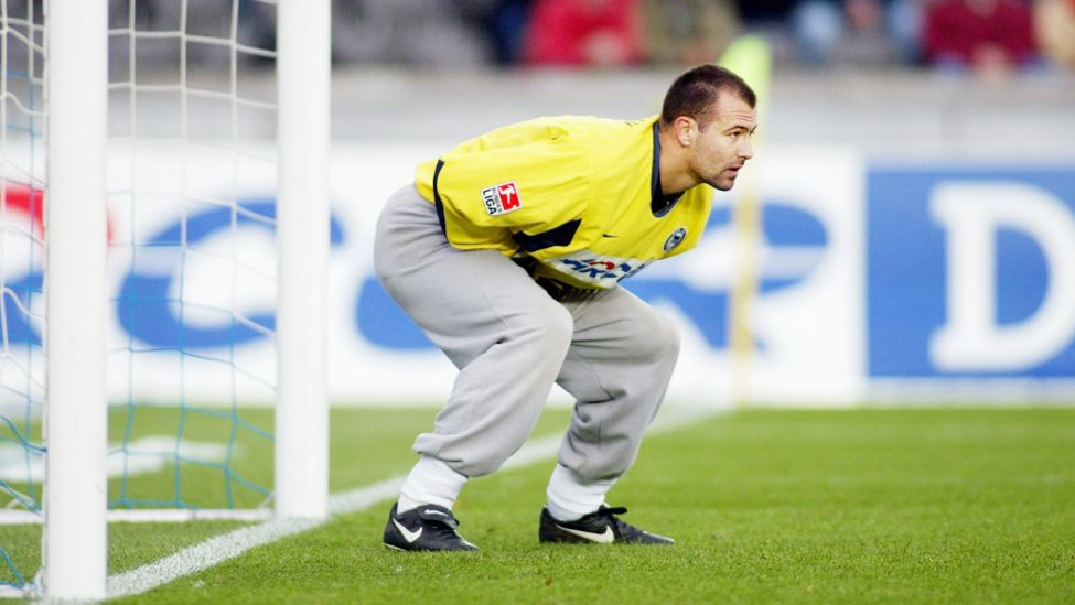 Gabor Kiraly in Jogginghosen (Quelle: dpa/Danny Gohlke)