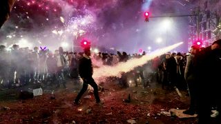Silvester in Berlin (Quelle: rbb/Helena Daehler)