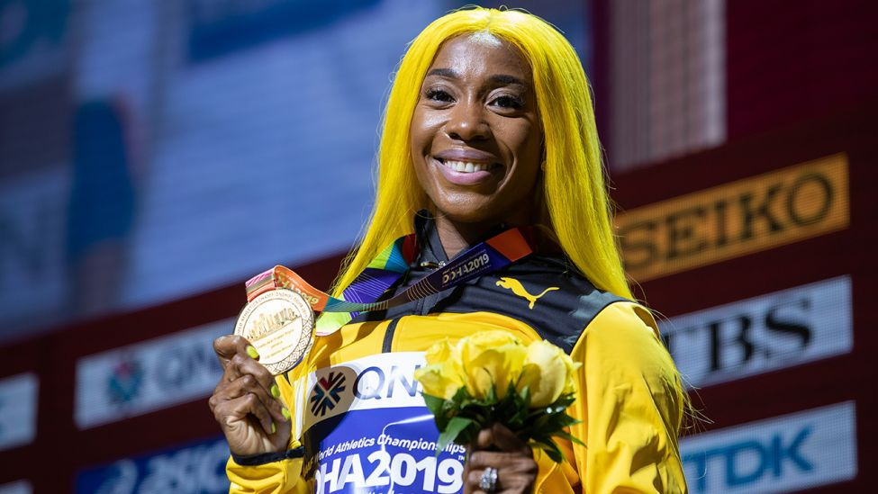 Shelly-Ann Fraser Pryce (Quelle: imago images/Xinhua)