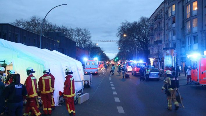 Brand in Neukölln (Quelle: Morris Pudwell)