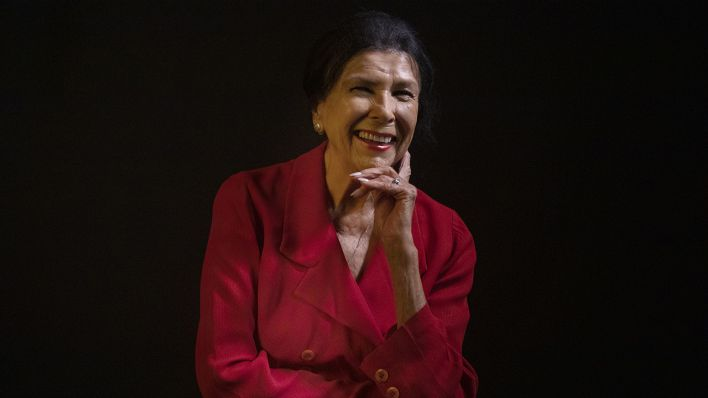 Die kanadische Filmemacherin Alanis Obomsawin auf dem Toronto International Film Festival am 06.09.19 (Quelle: dpa / CThe Canadian Press / Chris Young).