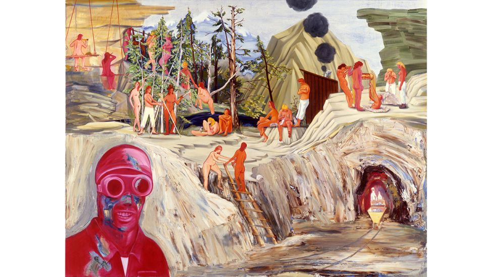 Nicole Eisenman, Mining II, 2005 (Quelle: Courtesy the artist and Galerie Barbara Weiss, Berlin / Olbricht Collection)