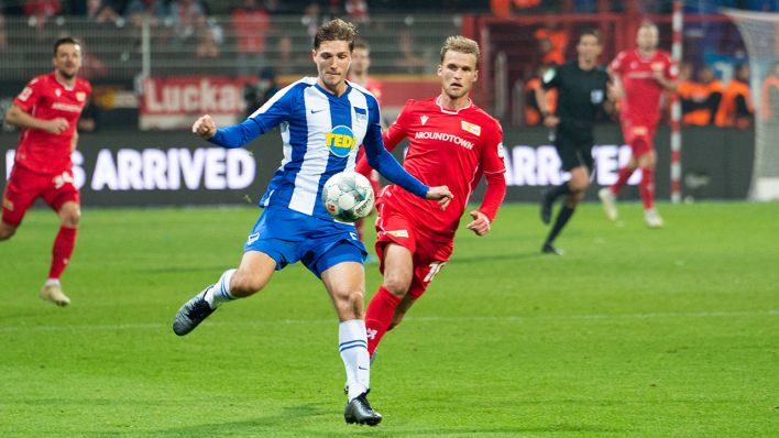 Union Berlin vs Hertha BSC am 02.10.2019. (Quelle: dpa/Uwe Koch)