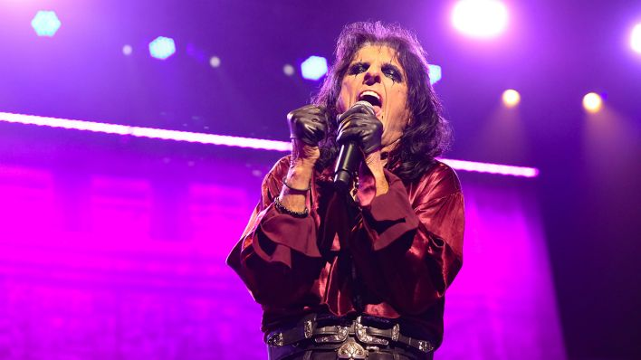 Alice Cooper. (Quelle: dpa/Christopher Khoury)