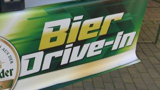 Bier Drive-In in Finsterwalde, Quelle: NonstopNews