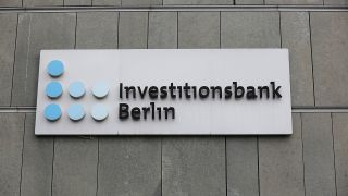 Die Investitionsbank Berlin in der Bundesallee am 31.03.2020. (Quelle: imago images)