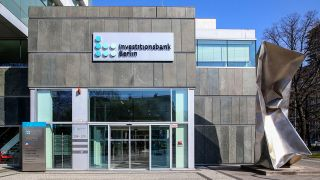 Die Investitionsbank Berlin Berlin (IBB) am 07.04.2020. (Quelle: imago images/Andreas Gora )