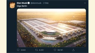 Screenshot: Twitter von Elon Musk (Quelle: Screenshot)