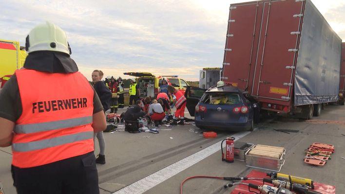 Unfall A24 Heute Richtung Berlin