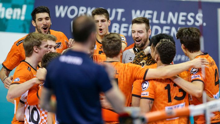 BR Volleyball, 1.Bundesliga (Quelle: imago images/Andreas Gora)