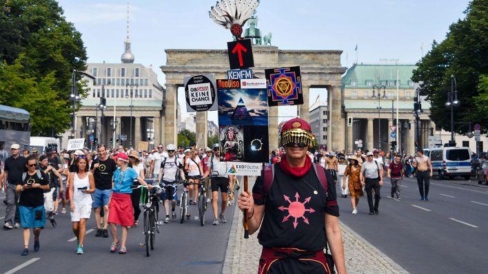 Corona Demo Berlin 29.8