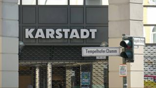 Die Karstadt-Filiale am Tempelhofer Damm in Berlin. Quelle: imago images