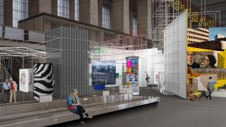 Ausstellungsimulation Living the City (Quelle: Presse/Living the City)