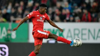 Taiwo Awoniyi spielte zuletzt für Mainz 05 (Quelle: imago images/Michael Weber)