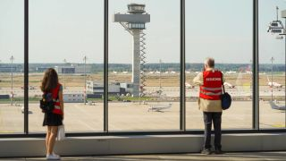 "Flughafen Berlin Brandenburg ""Willy Brandt"" (Quelle: imago-images)"
