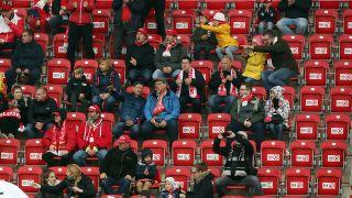 Fans bei einem Heimspiel von Union Berlin (Quelle: imago images/Contrast)