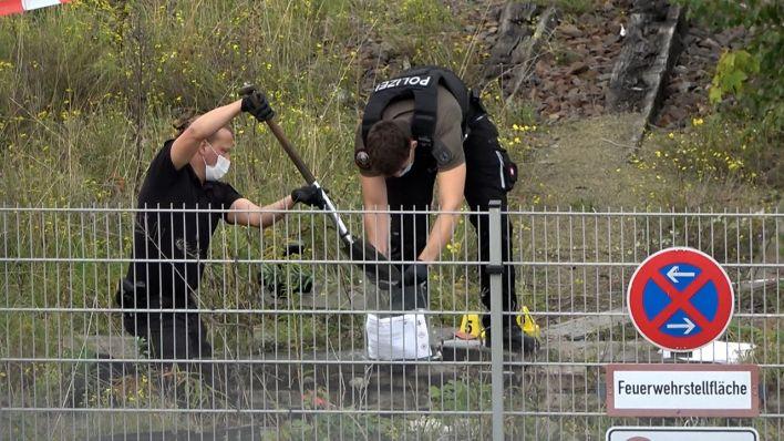 Polizeieinsatz Schönhauser Allee