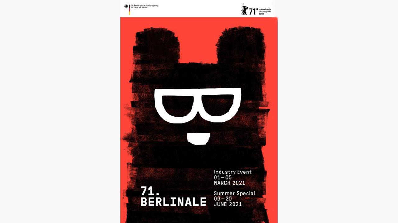 Das Berlinale Design 2021 von der Gestalterin Claudia Schramke. (Quelle: Berlinale/C. Schramke)