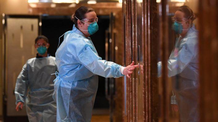 Berlin-Neukölln: Quarantäne-Hotel bislang kaum belegt