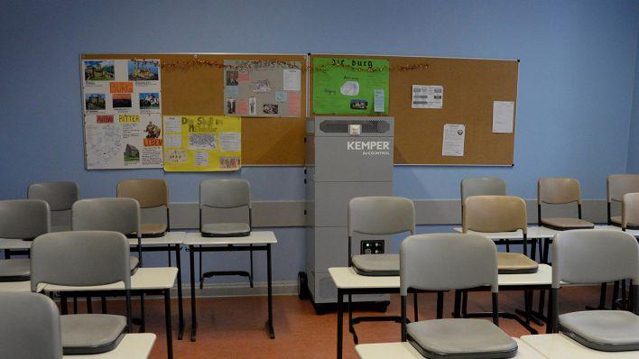 Berliner Schulen: Senat will weitere 1.200 Luftfilter finanzieren