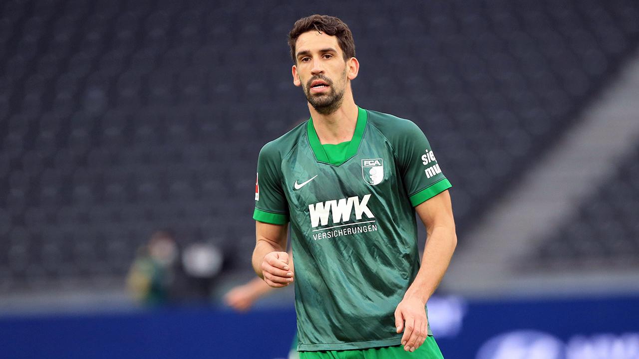 Rani Khedira vom FC Augsburg (imago images/Engler)