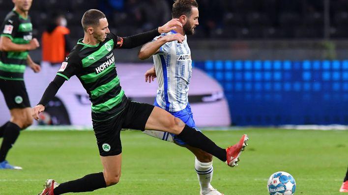 Video: Hertha gelingt gegen Fürth der zweite Sieg in Folge