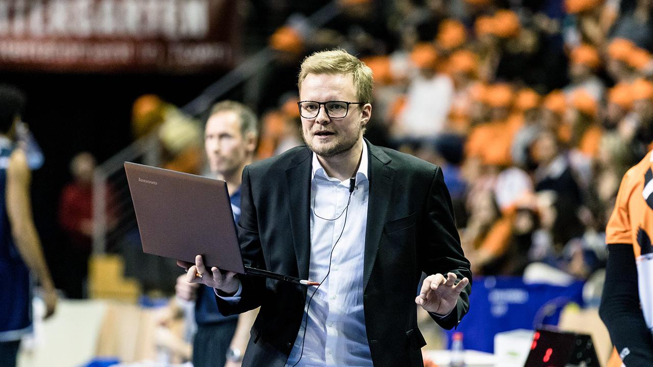 Tomasz Wasilkowski, neuer Trainer der Netzhoppers (imago images/Gerold Rebsch)