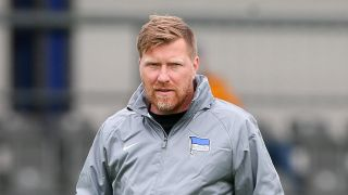 Andreas Neuendorf in Trainingsjacke von Hertha BSC (Quelle: Imago Images / Picture Point)