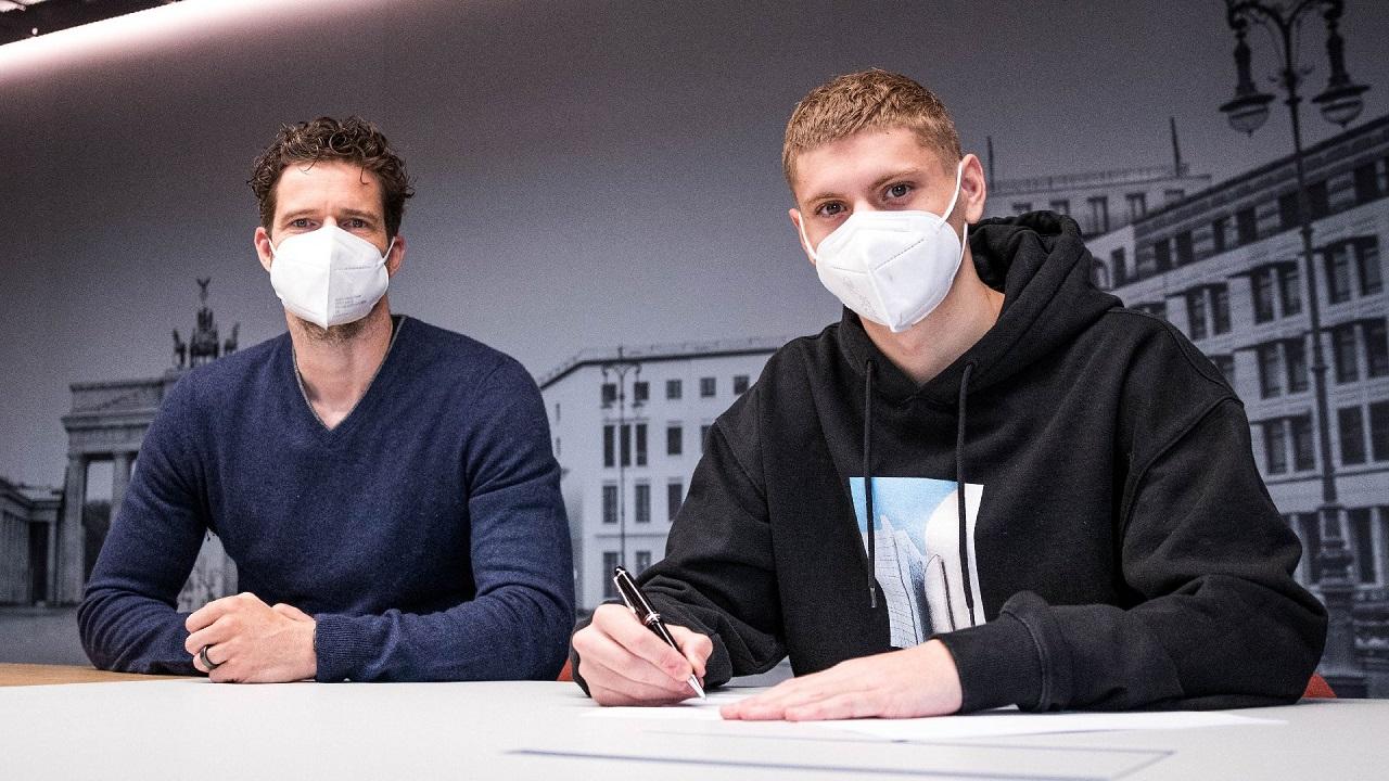 Arne Friedrich und Marton Dardai / Hertha BSC