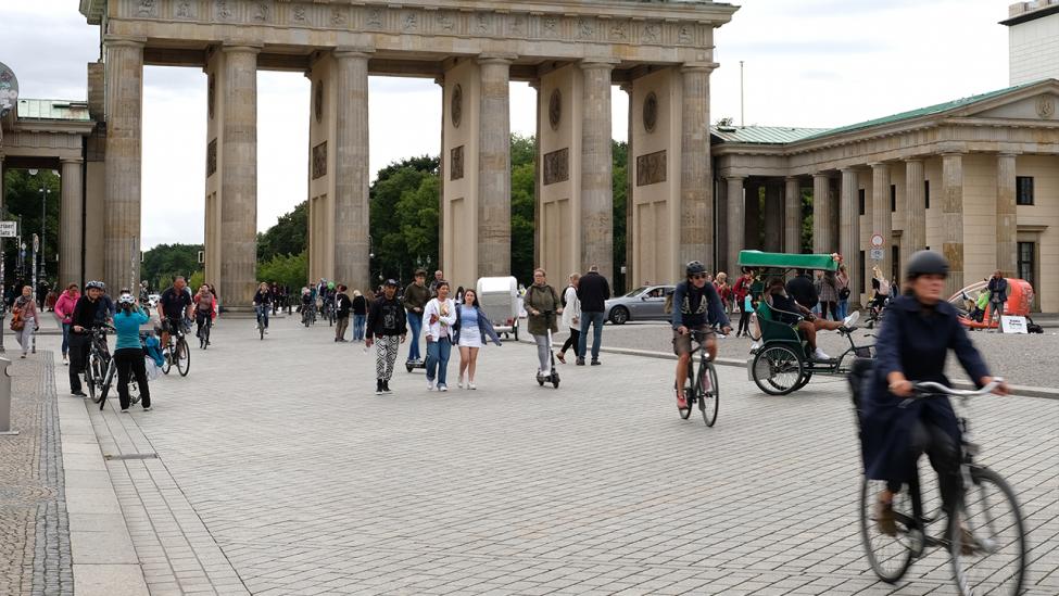 Das Brandenburger Tor 2020. (Quelle: rbb|24/Winkler)