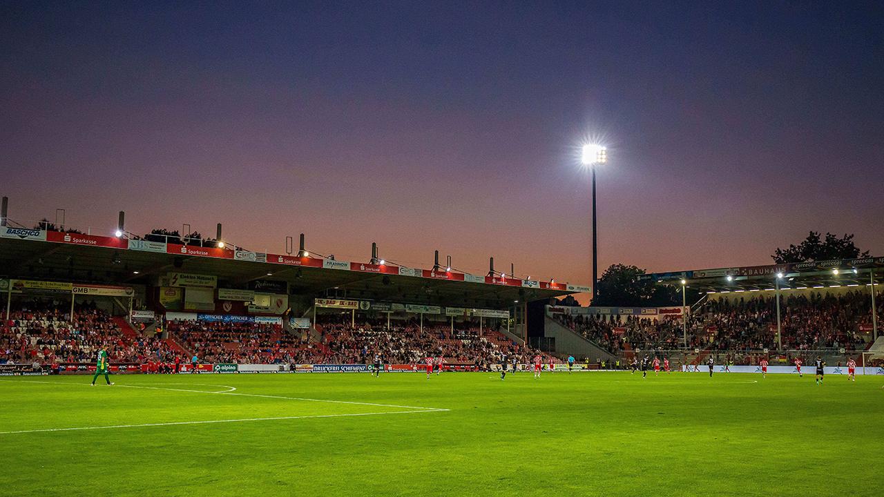 Das Stadion der Freundschaft in Cottbus (imago images/Weiland)