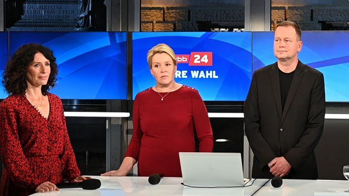 Spitzen von SPD, Grüne und Linke wollen in Koalitionsverhandlungen treten