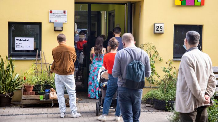 Offenbar haben in Berlin auch Minderjährige gewählt