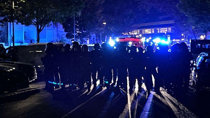 """Ausschreitungen bei Demo gegen """"Köpi""""-Räumung"""