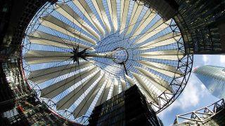 Sony Center in Berlin (Bildquelle: dpa)