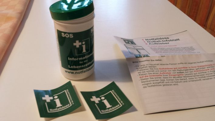 Kühlschrank Dose : Notfalldose u rettung im kühlschrank