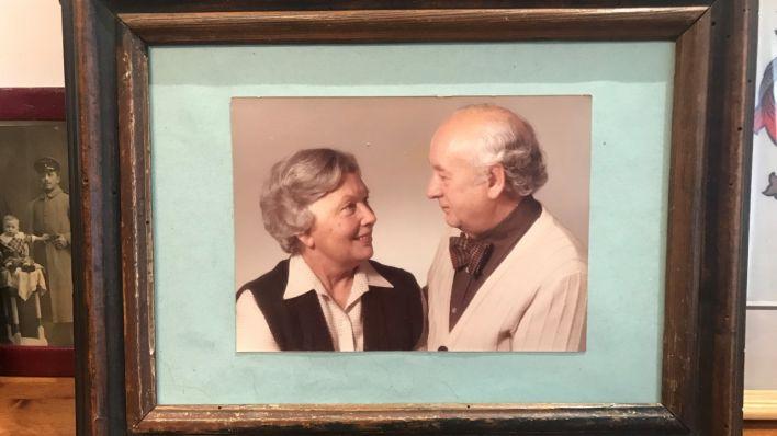 Ein Bild von Leissler mit seiner Ehefrau Gertrud